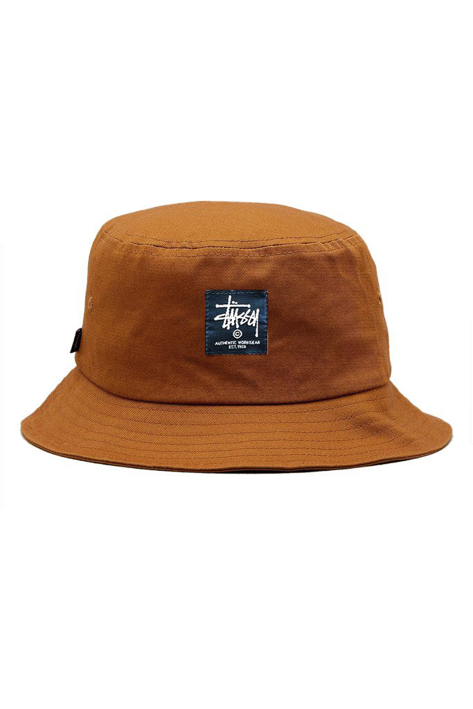 Stussy Workwear Bucket Hat New Tan