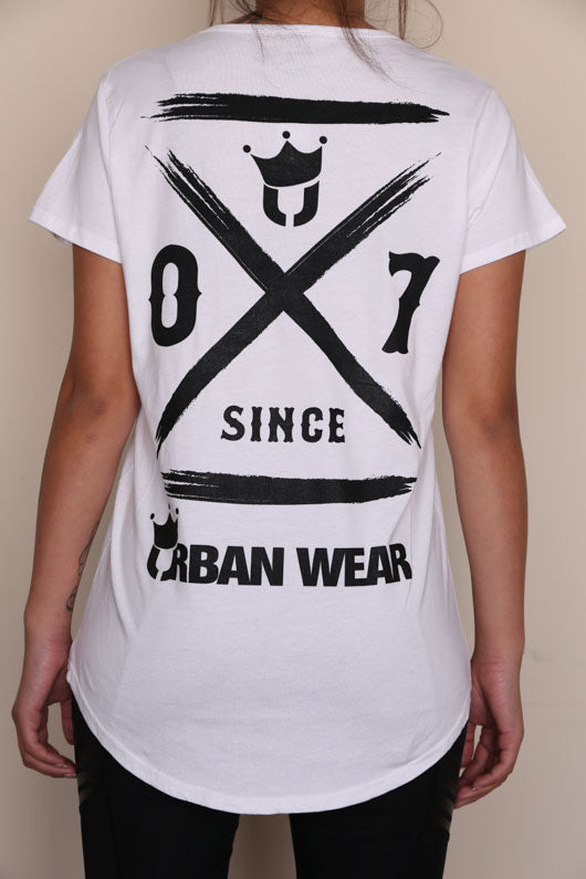 Urban Wear Womens Since 07 Tee Back