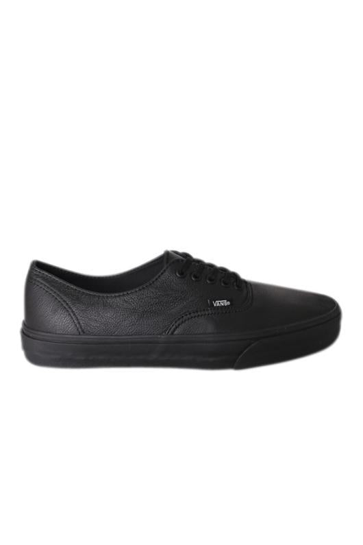 Vans Authentic Decon Premium Leather Black  Black