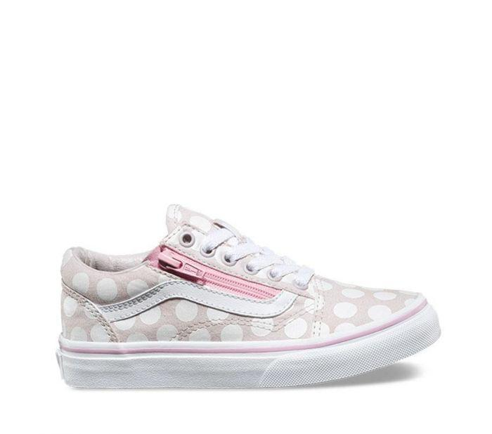 Vans Old Skool Zip Multi Pink Youth