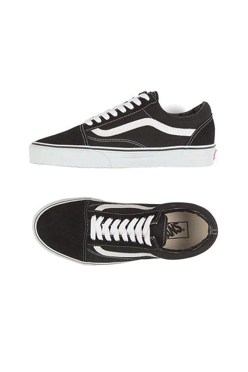 Vans Kids Old Skool Black / True White Top