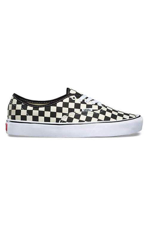 Vans Authentic Checkerboard Black/White Side