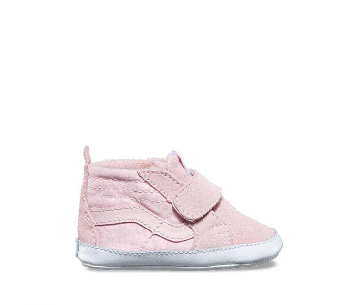 Vans Toddler SK8-Hi Zip Chalk Pink Side