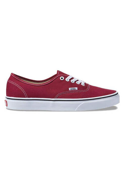 Vans Authentic Rumba Red/White Side