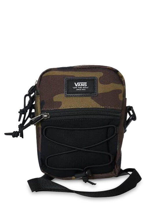 Vans Shoulder Bag Classic Camo Front