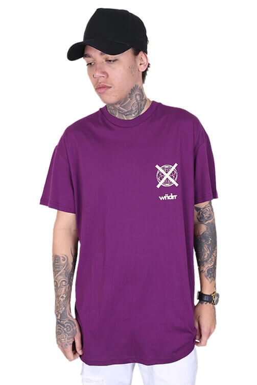 WNDRR Insurgent Custom Fit Tee Grape Front