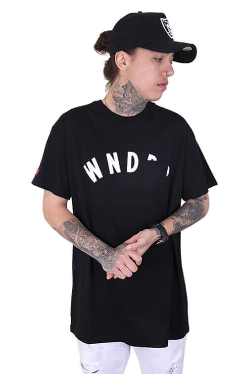 WNDRR Trauma Pocket Tee Black Front