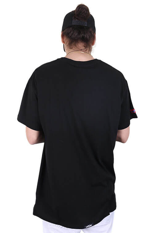 WNDRR Trauma Pocket Tee Black Back