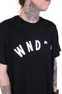 WNDRR Trauma Pocket Tee Black Detail 1