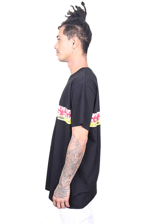 WNDRR Highline Custom Fit Tee Black Angle