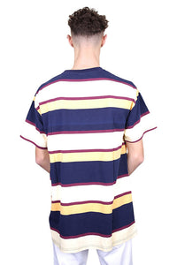 WNDRR Mark Stripe Custom Fit Tee Multi Back