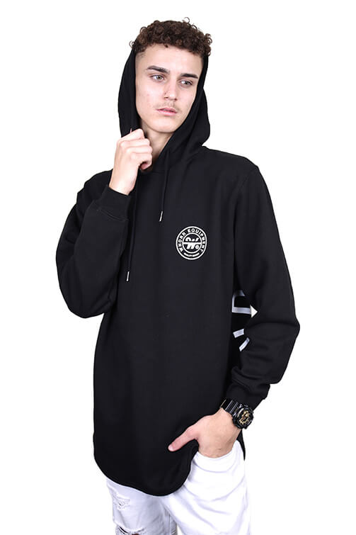WNDRR Clutch Curved Hem Hood Black Front