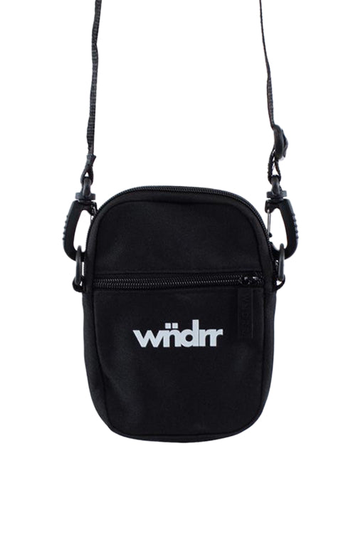 WNDRR Accent Pocket Bag Black Front