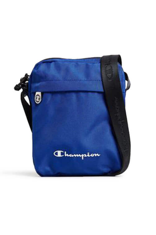 Champion Cross Body Bag Blue Front