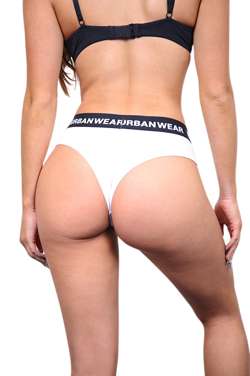 Urban Wears Womens Bikini White Back