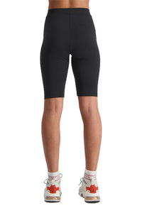 Huffer Womens 3 Ball Bike Short Black Back