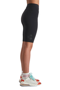 Huffer Womens 3 Ball Bike Short Black Angle
