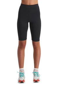 Huffer Womens 3 Ball Bike Short Black Front