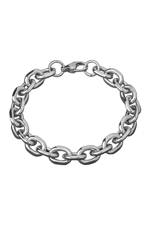 Statement Collective Cable Chain Bracelet Angle