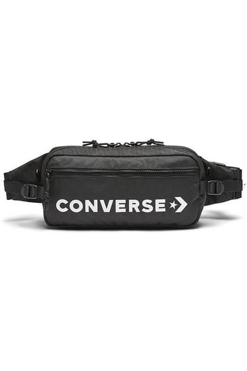Converse Hip Pack Black Front