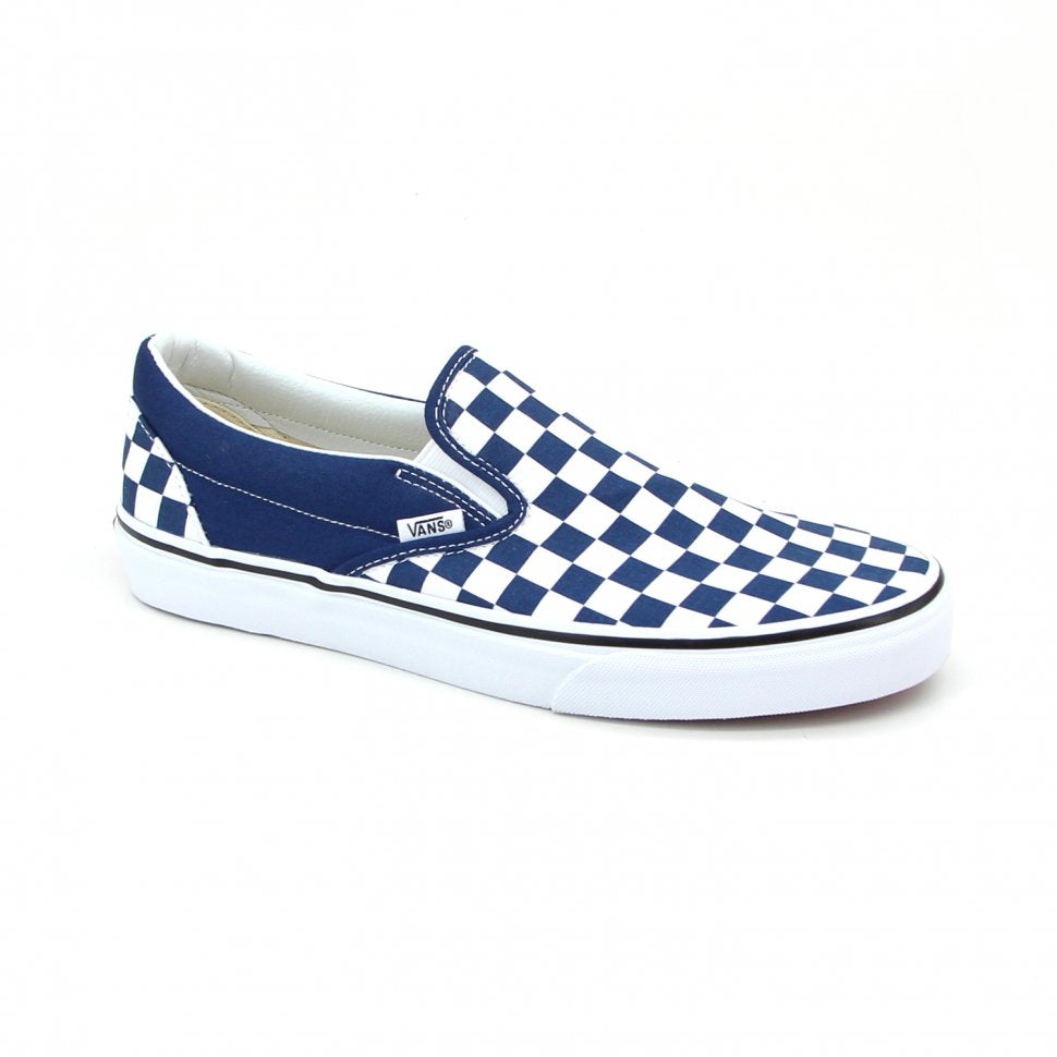 Vans Classic Slip-on Checkerboard Blue