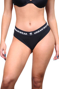 Urban Wears Womens Bikini Black Front