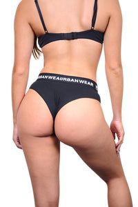 Urban Wears Womens Bikini Black Back