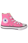 Converse Kids Canvas Hi Pink Youth