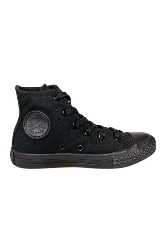 Converse Black Mono Hi Youth