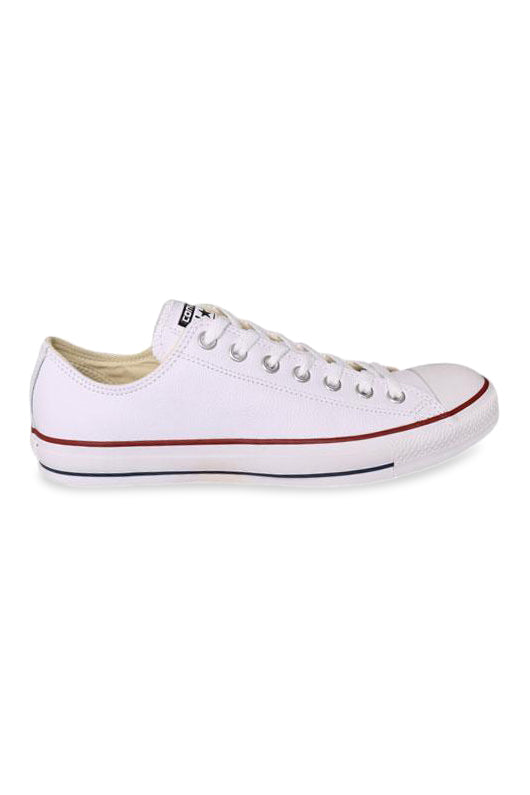 Converse Optical White Low Leather Side