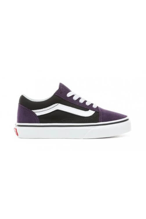 Vans Toddler Old Skool Suede Mysterioso Black