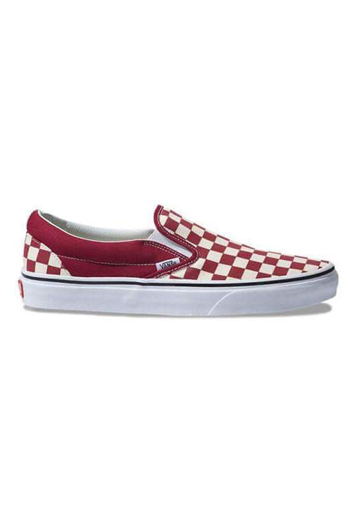 Vans CSO Checker Rumba Red/White Front