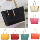 Women Handbag Ladies Faux Leather Tote Purse Large