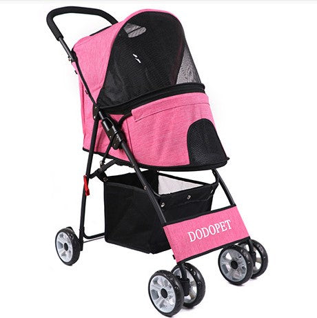 Foldable Portable Pet Stroller for Dogs and Cats