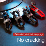 Baseus cafule  Cable USB For lightning 2.4A