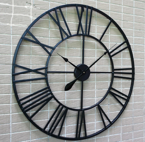 80CM Large Wall Clock Saat Clock Reloj Duvar Saati Digital Wall Clocks Horloge Murale Relogio de Parede Living room - virtualdronestore.com
