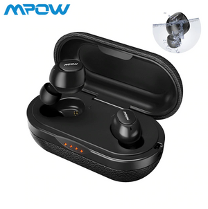 Mpow ipx7 T5 TWS Earphones Wireless Earbuds Bluetooth 5.0 Headset Support Aptx 36h Playing Time For iPhone Android Xiaomi Huawei - virtualdronestore.com