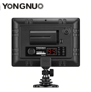 YONGNUO YN300 Air 3200k-5500k YN-300 air Pro LED Camera Video Light with NP-F750 Battery and Charger for Canon Nikon - virtualdronestore.com