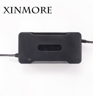 Shipping From USA XINMORE 29.4V 5A Battery Charger 7 Series Lithium Li-ion Lipo Battery Pack Bike AC-DC 24V 5A - virtualdronestore.com