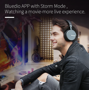 Bluedio V2 Bluetooth headphones Wireless headset PPS12 drivers with microphone high-end headphone for phone and music - virtualdronestore.com