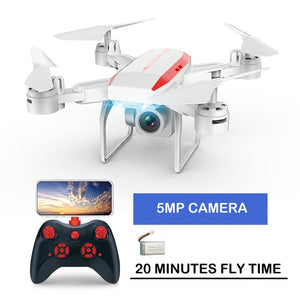 New professional KY606D RC Foldable Drone Quadcopter long fly time fpv Helicopter With 4K HD Wifi Camera VS ky601s drone - virtualdronestore.com