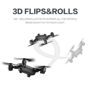 New FPV RC Drone With Live Video And Return Home Foldable RC With HD 720P/1080P Camera Quadrocopter Return Home Foldable toy - virtualdronestore.com
