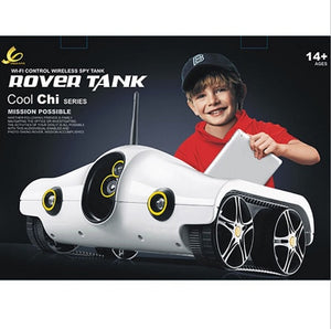 new Wifi Controll rc toys with wifi Camera WIFI Rover Tank for iPhone/ iPad/ iPod Tank rc car - virtualdronestore.com