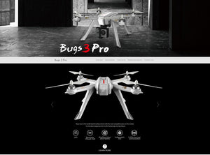 MJX B3 PRO RC Drone Quadcopter Dual GPS Follow Me Mode One-key Auto Return Brushless Motor Can Lift Gopro Sjcam C6000 Camera - virtualdronestore.com