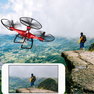 Newest Professional Four-axis RC Drone Quadcopter With FPV 1080P Wifi Camera Photography Height Remote Control Helicopter - virtualdronestore.com