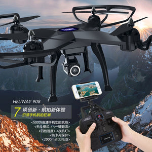 New 53CM large scale RC Quadcopter 908 rc drone 2.4G 4CH  Headess Mode set height 5.0 MP camera real-timeTransmission VS Q333 - virtualdronestore.com