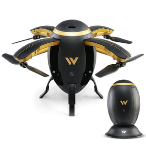 Exquisite Folding RC Quadcopter Aircaft Transformable Egg Drone G-Sensor Altitude Hold Wireless ABS 4 Channel 2.4GHz W5 - virtualdronestore.com