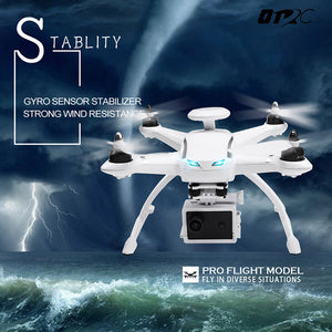 OTRC RC Drone Brushless With 1080P FPV HD Camera Helicopter 6-AXIS Gyro Headless Mode Quadcopter 2.4GHz Drone With GPS - virtualdronestore.com