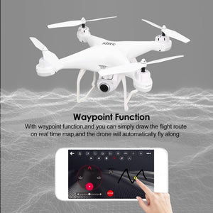 SJ R/C S20W FPV 720P 1080P Camera Selfie Altitude Hold Drone Headless Mode Auto Return Takeoff/Landing Hover GPS RC Quadcopter - virtualdronestore.com