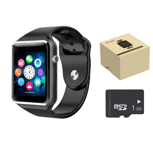 Smart Watch A1 Smartwatch For Apple iPhone Android Samsung Bluetooth Digital Wrist Sport Watch SIM Card Phone With Camera - virtualdronestore.com